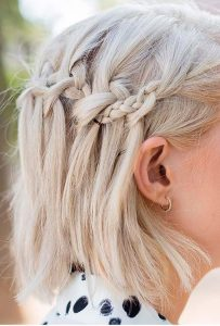 Gray Braids for Shoulder Length Hair