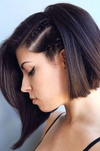 Two Braids at Single Side