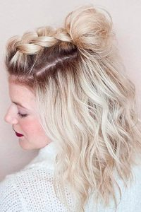 Beautiful Braid on Top