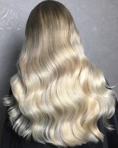 Hand Painted Blonde