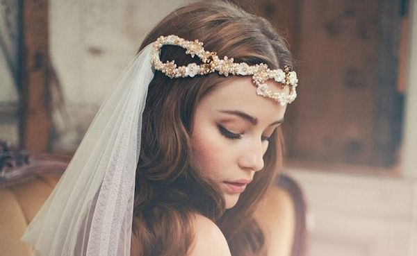 50 Stunning Wedding Veil & Headpiece Ideas For your Bridal Hairstyles