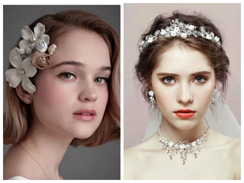 30 Wedding Hairstyles for Short to Mid Length Hair
