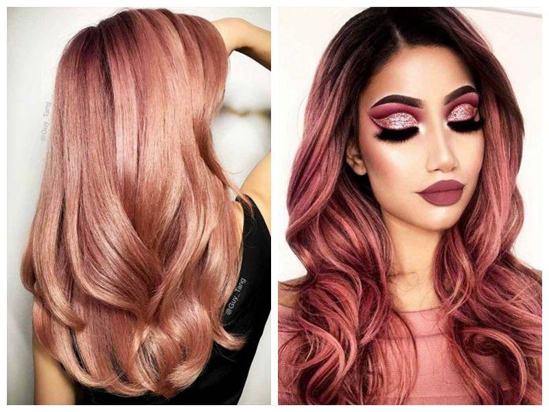 30 BREATHTAKING ROSE GOLD HAIR IDEAS