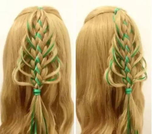 Just Looking At These cute Holiday Hairstyles Will Fill You With Christmas Cheer.