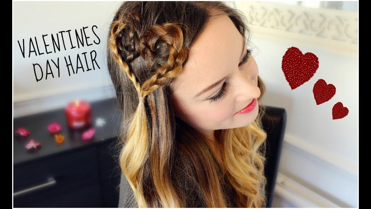 52 CUTE HAIRSTYLES FOR VALENTINE'S DAY
