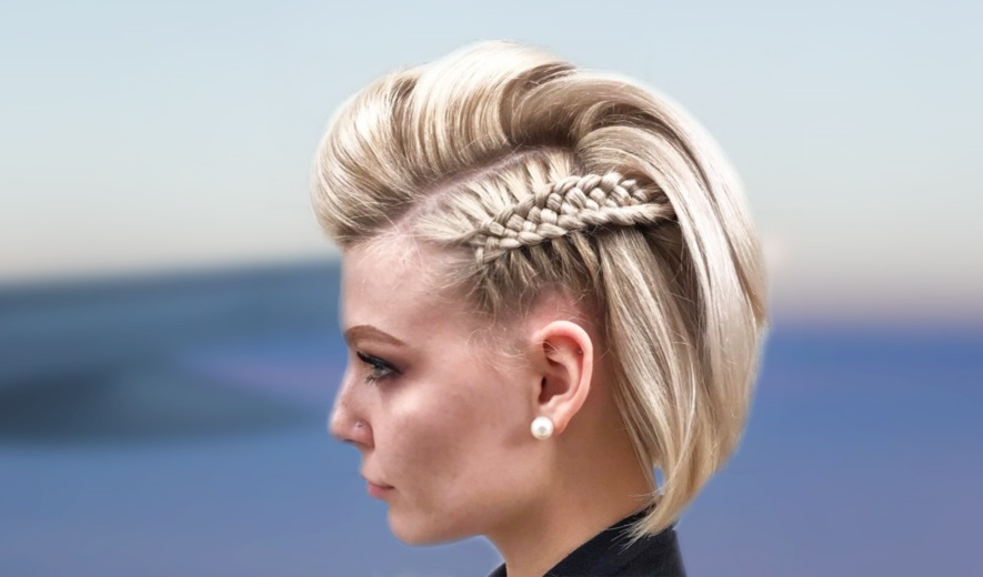 48 Cutest Braids For Short Hair